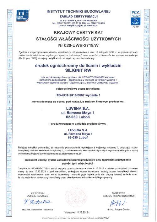 silignit_certyfikat-zgodnosci_2018