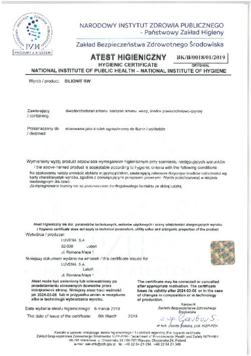 silignit_atest-higieniczny