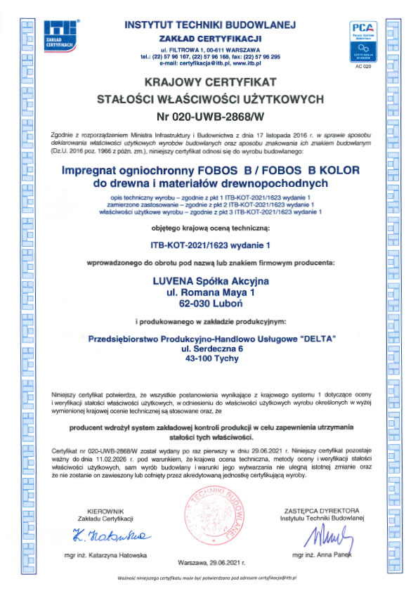 fobos_b_certyfikat_stalosci